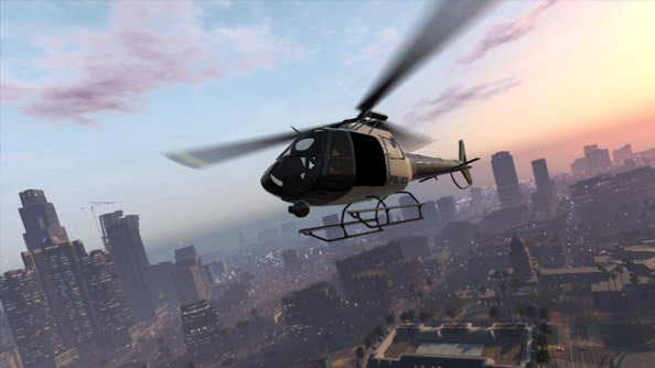 Two more GTA V screens bring us to the titular five screenshots
