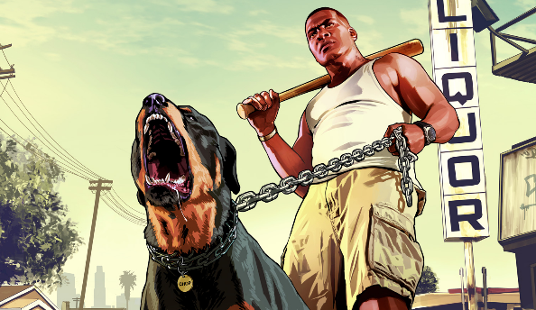 GTA5 will have a customisable dog. He answers to 'Chop' and will be adorable.