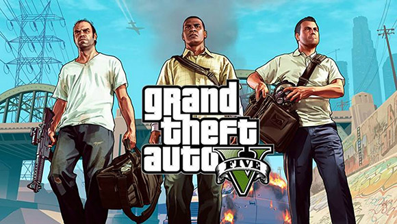 best looking games Grand Theft Auto V