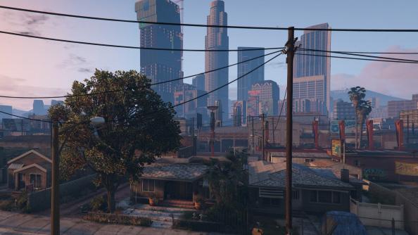 Grand Theft Auto V benchmark