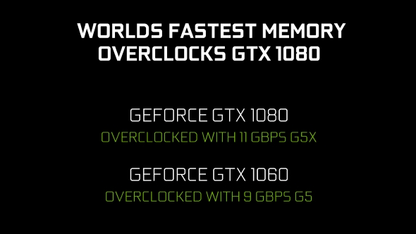 New GTX 1080 and GTX 1060