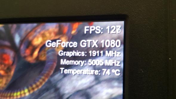 Nvidia GTX 1080 laptop benchmarks