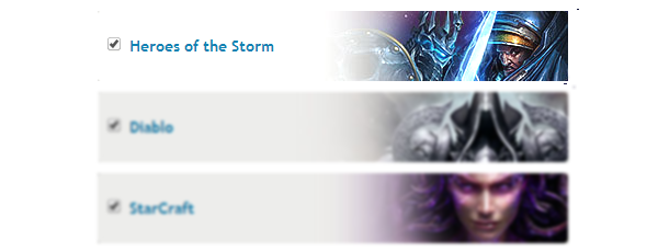 Heroes of the Storm alpha checkbox
