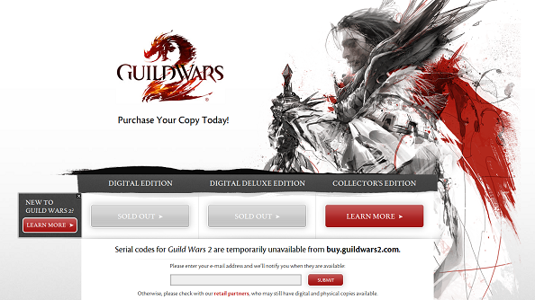 "ArenaNet turn off sales of Guild Wars 2 to preserve ""game experience"""