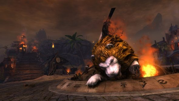 Guild Wars 2 Escape from Lion's Arch begins
