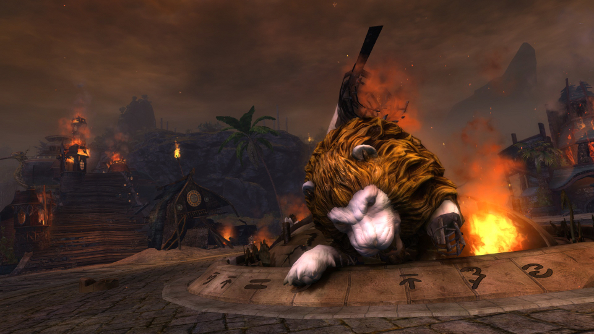 Lion's Arch burns in Guild Wars 2 today