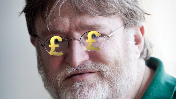 Guy spends $3000 on Steam badges