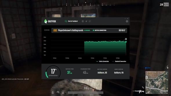 Gaming network Outfox PUBG