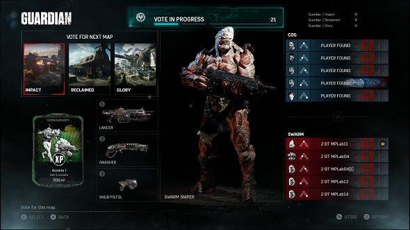 Gears 4 Ranked Lobbies