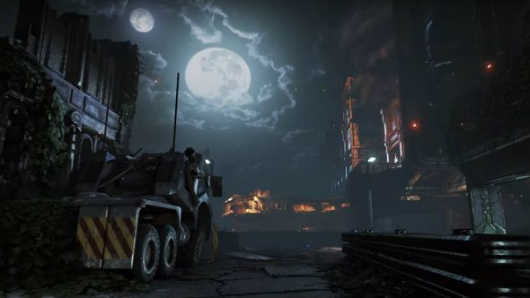 The new Gears of War 4 Dark Impact map will be a sniper's nightmare