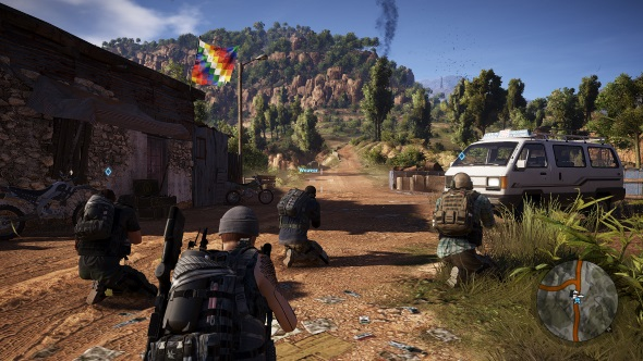 Ghost Recon Wildlands PC graphics presets high