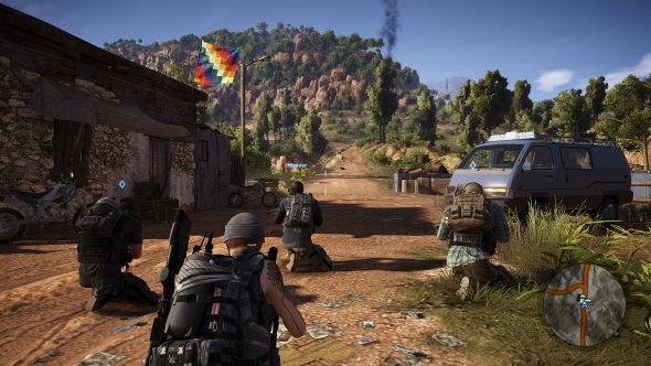Ghost Recon Wildlands PC graphics presets medium