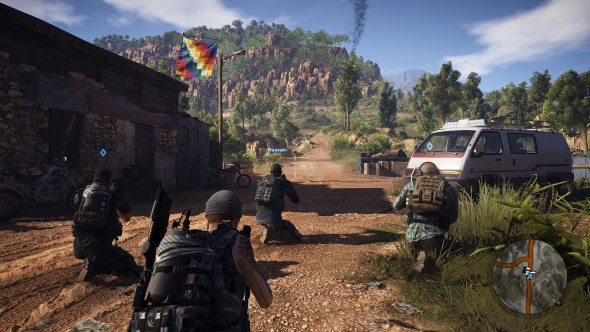 Ghost Recon Wildlands PC graphics presets ultra