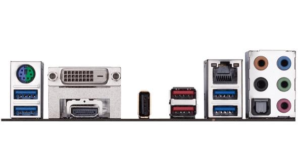 Gigabyte AB350-Gaming 3 backplate