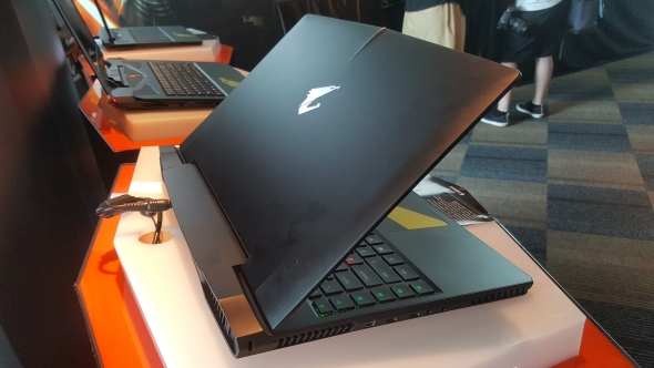 Gigabyte Aorus Max-Q gaming laptop