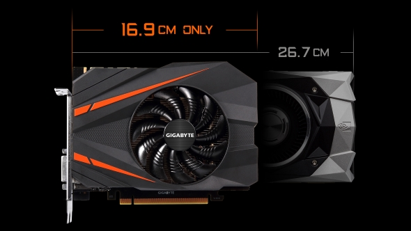Gigabyte GTX 1080 Mini comparison