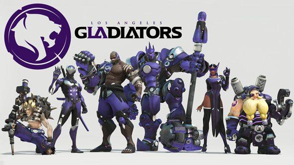 LA Gladiators Overwatch team roster