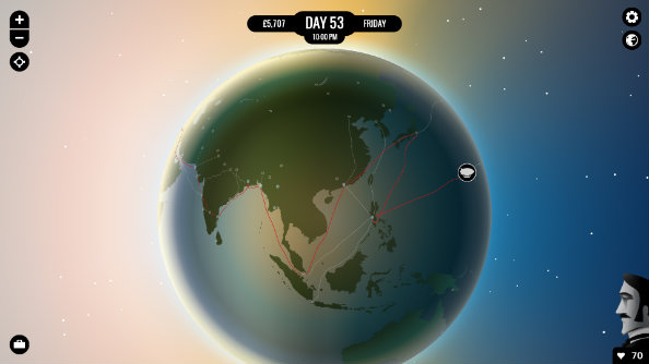 80 Days lands safely on Steam after completing its circumnavigation of the Earth