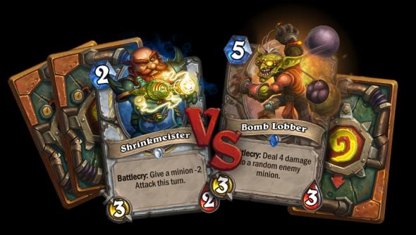 Hearthstone: Goblins vs Gnomes cards