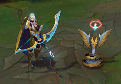 League of Legends Gold Championship Ashe