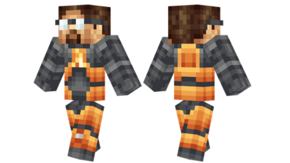 best minecraft skins Gordon Freeman