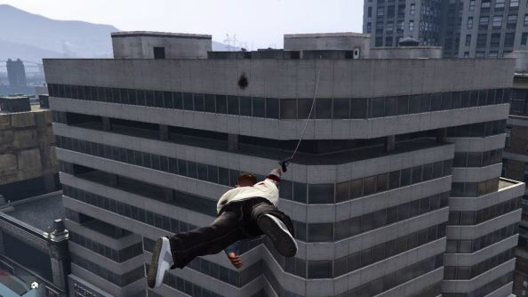 GTA V Grappling Hook