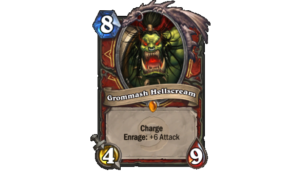 Best Hearthstone Legendary cards Grommash Hellscream