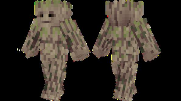 best minecraft skins Groot