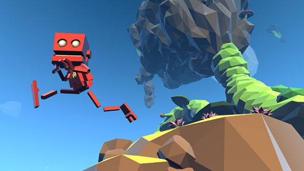 Grow Home is about a little red robot that could, and it's out today on Steam