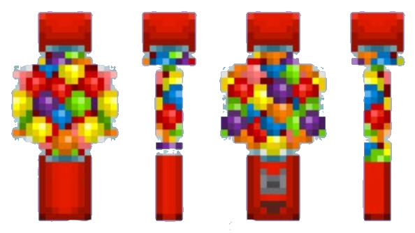 best minecraft skins Gumball Machine