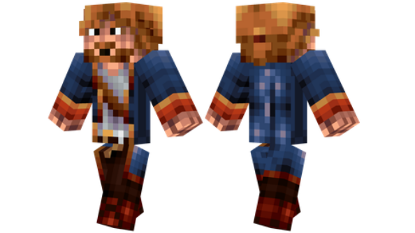 best minecraft skins Guybrush Threepwood