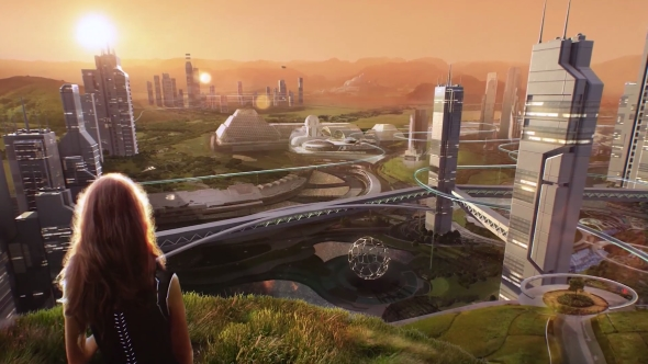 Nvidia and HP Mars Home Planet Project