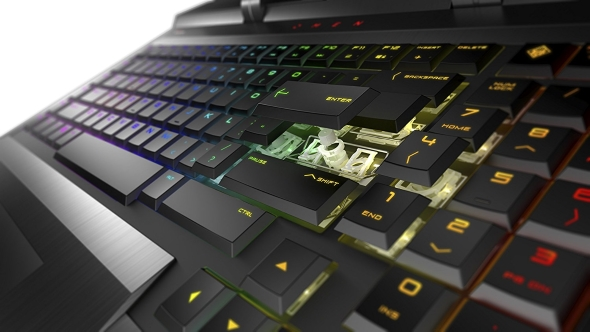 HP Omen X mechanical keyboard