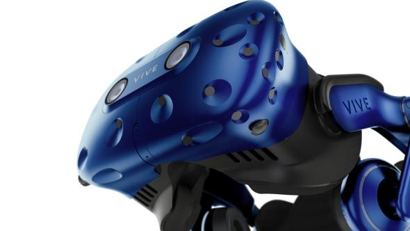 HTC Vive Pro angle