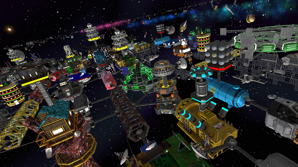 Habitat Steam Early Access update piles on the space junk
