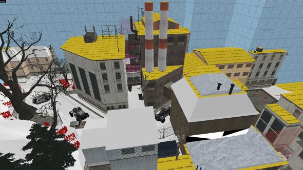 Half-Life 2 episode snowy ravenholm JPS