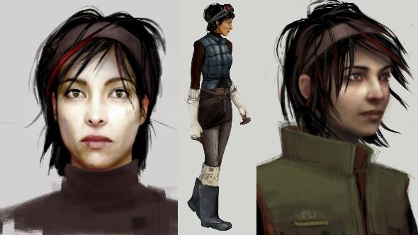 Half-Life 3 concept art Alyx