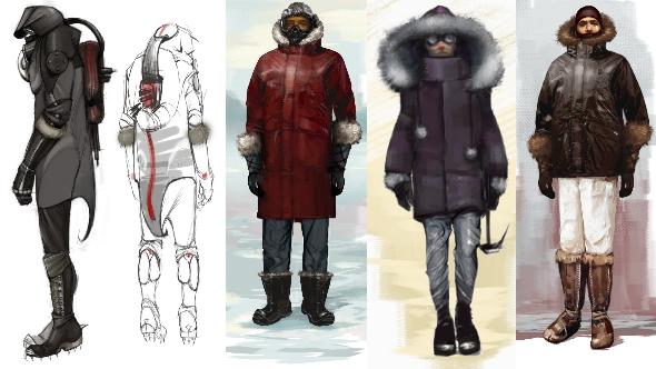 Half-Life 3 concept art winter gear