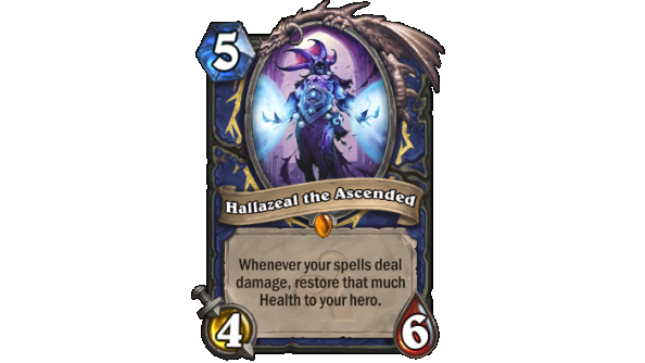Best Hearthstone Legendary cards Hallazeal the Ascended