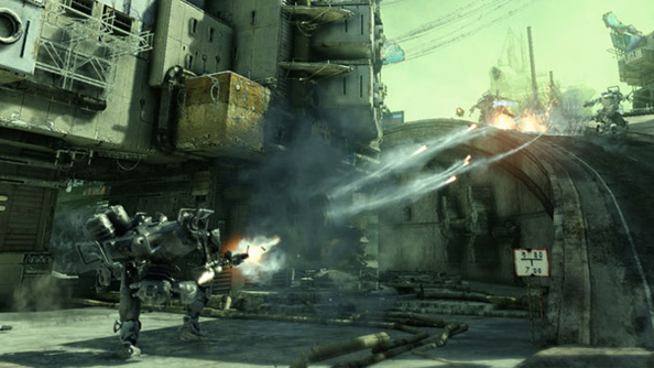 Hawken aiming to expand on PvE soon after release with 'a bunch of players fighting to destroy a giant beast.'