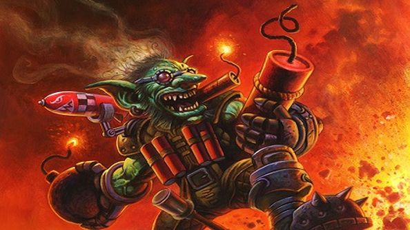Watch our Nick dodge some explosive sheep in the Hearthstone: Goblins vs Gnomes arena
