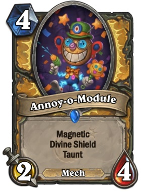 Hearthstone The Boomsday Project - Annoy-o-Module
