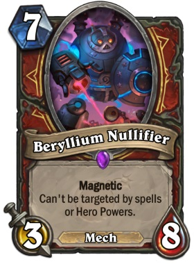Hearthstone The Boomsday Project - Beryllium Nullifier