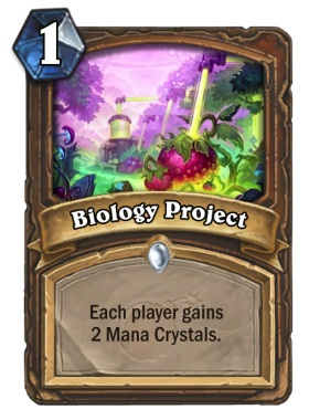 Hearthstone The Boomsday Project - Biology Project