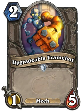 Hearthstone The Boomsday Project - Upgradable Framebot