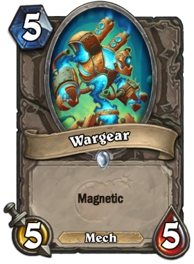 Hearthstone The Boomsday Project - Wargear