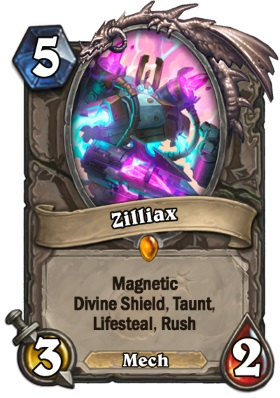 Hearthstone The Boomsday Project - Zilliax