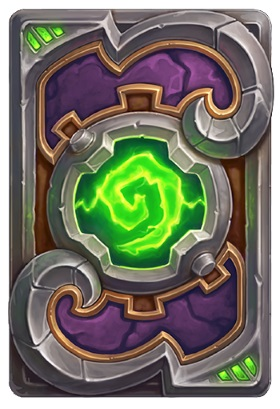 Hearthstone The Boomsday Project - card back