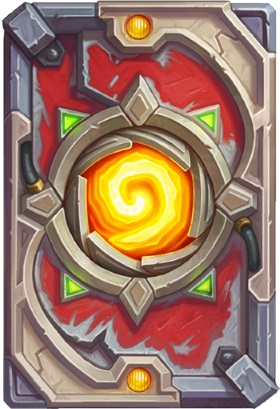 Hearthstone The Boomsday Project - Puzzle Labs card back