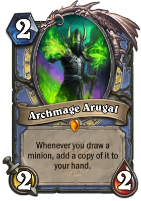Hearthstone The Witchwood Archmage Arugal